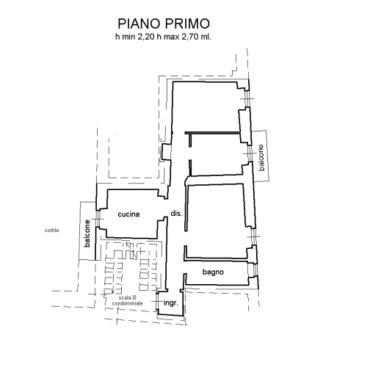 Cuneo centro, privato vende trilocale.