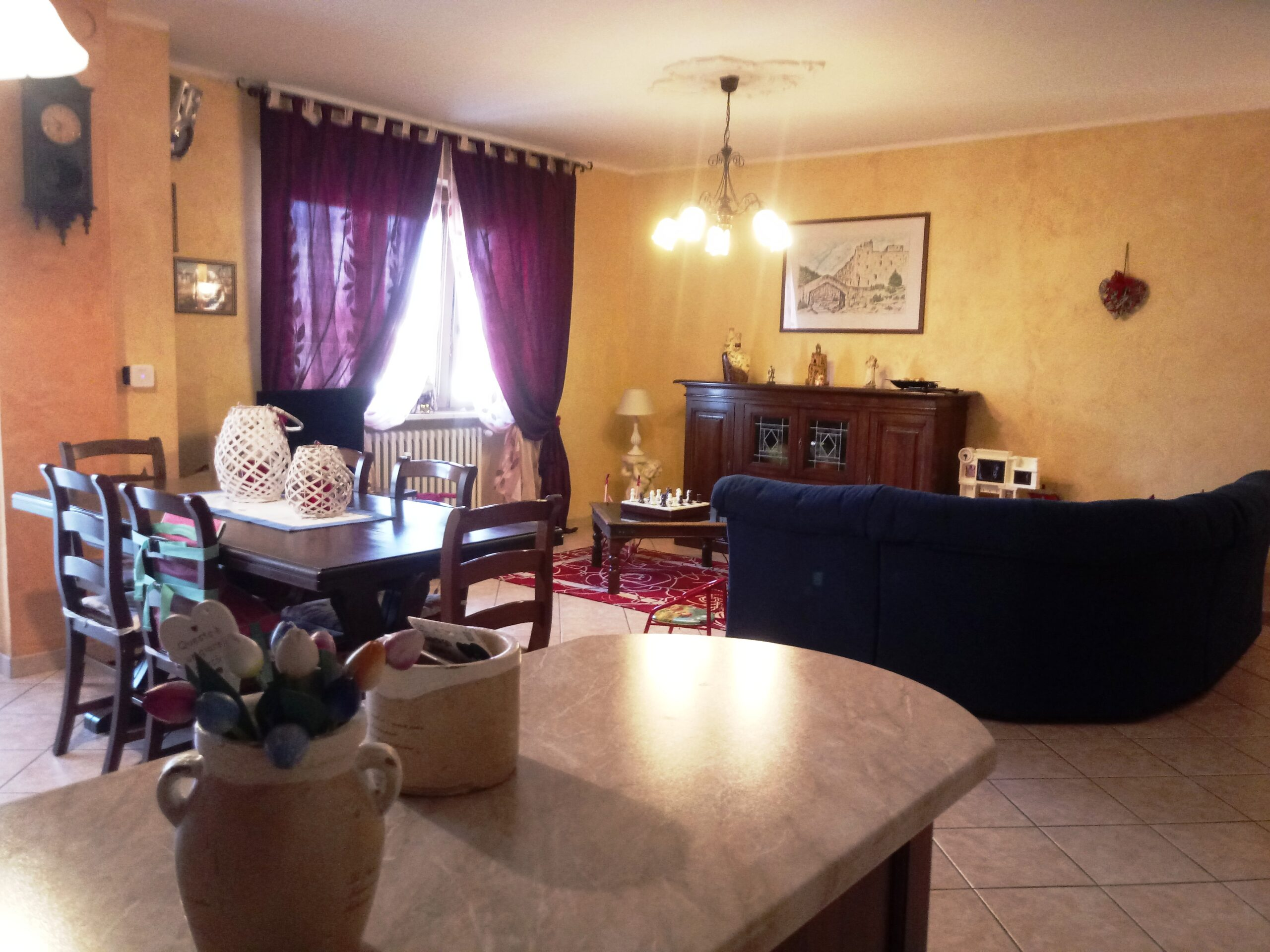 Centallo, Trilocale con cantina e garage.